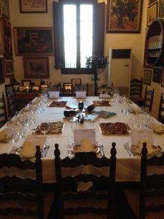 Mesa de comedor en Mont Marçal
