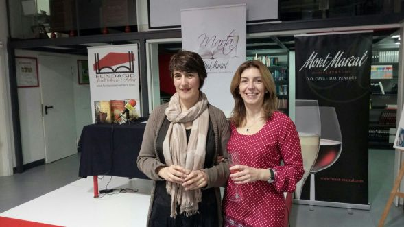 Foto de ganadora Yolanda Fidalgo y Verónica Fabra
