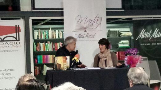 Yolanda Fidalgo, ganadora del IV Premio de Narrativa Marta de Mont Marçal