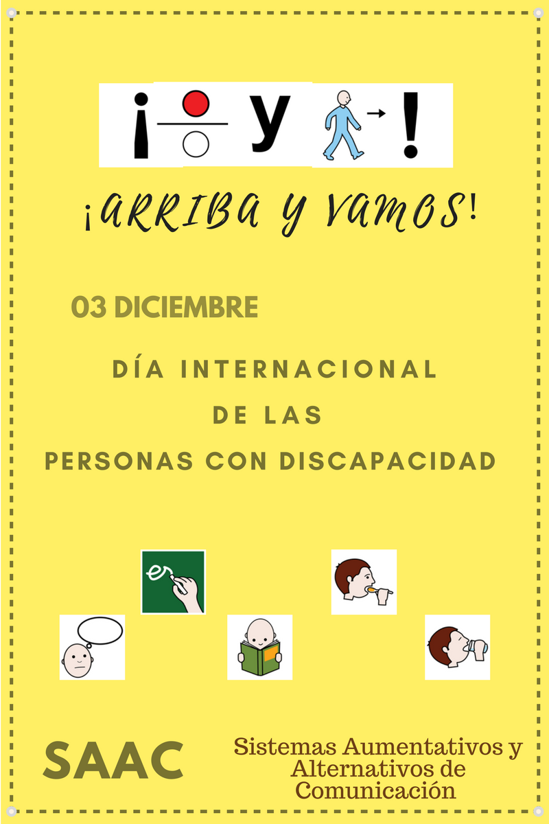 03-dic Día Persona con Discapacidad SAAC